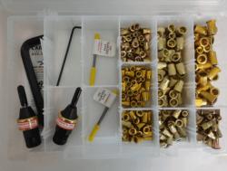 rivnut® kits, rivet nut kits, threaded insert kits, rivet nut install kit